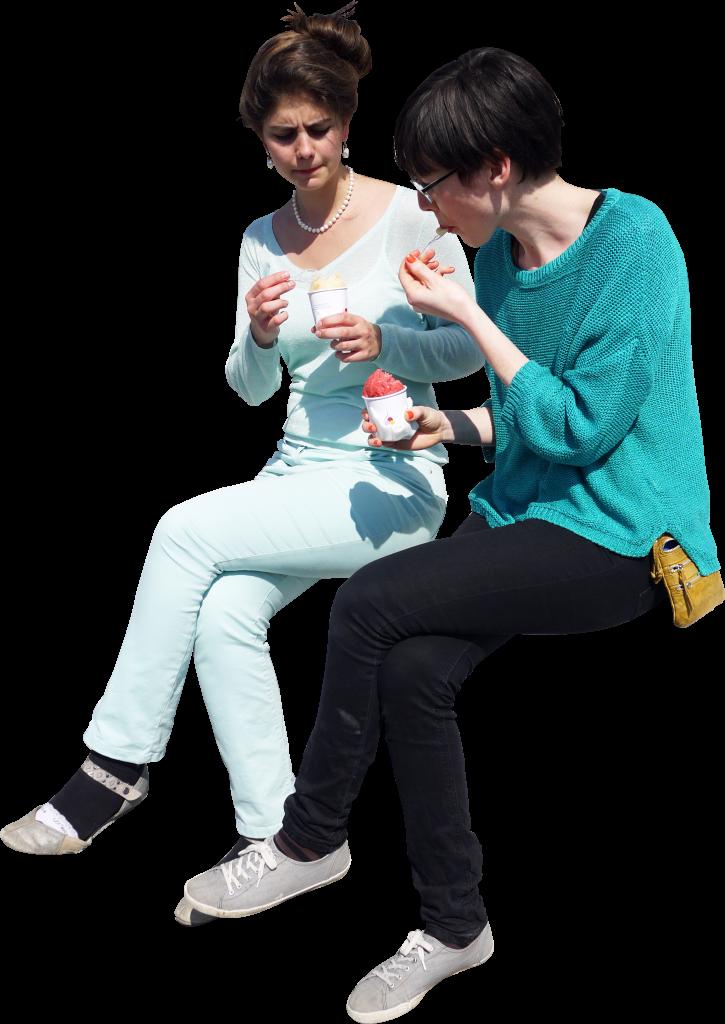 Icecream Sitting