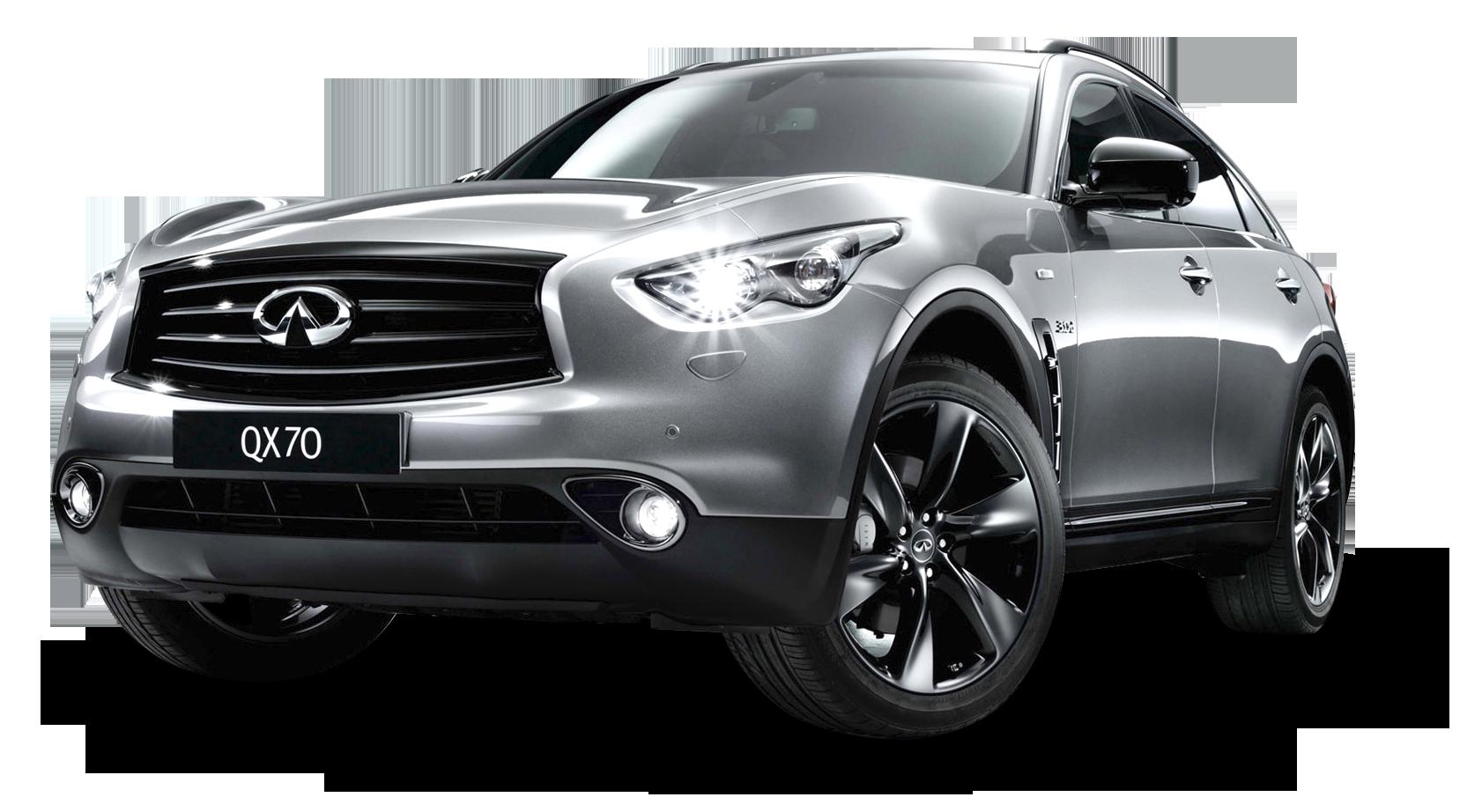 Infiniti QX70S Silver Car