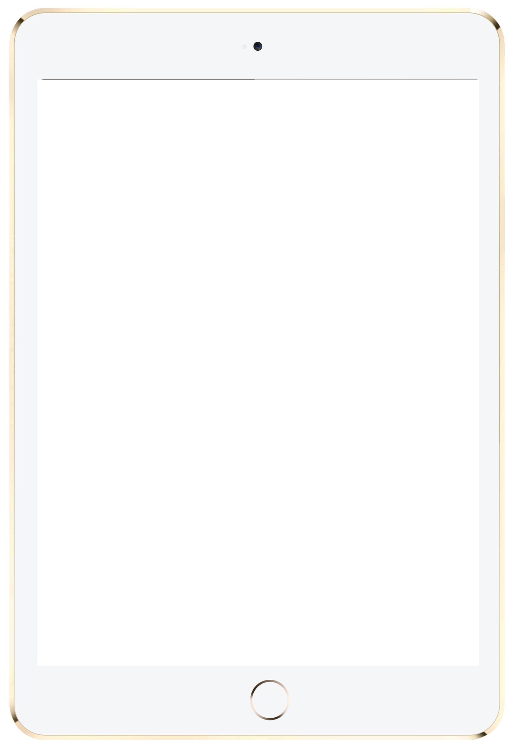 Ipad White Png