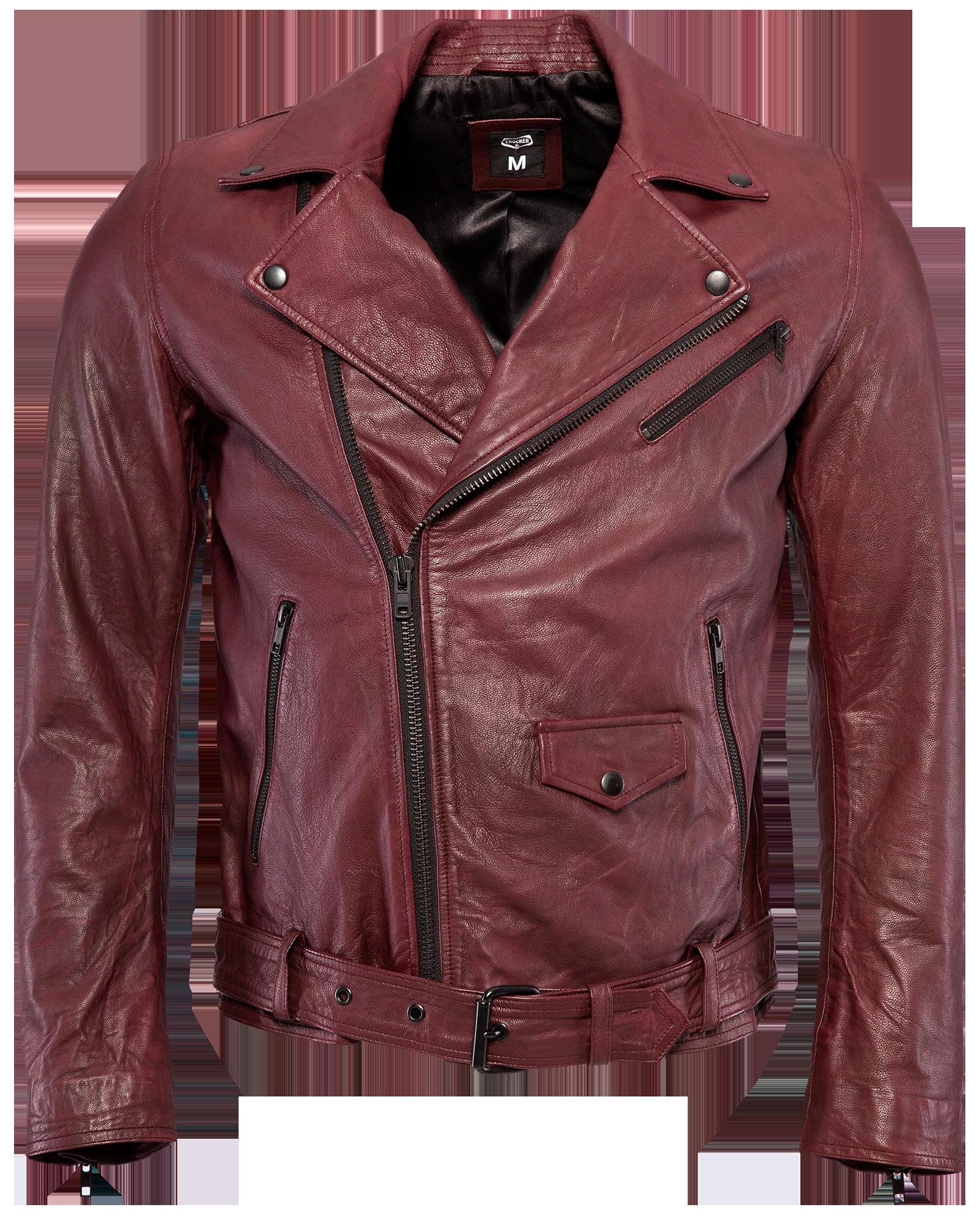 Jack Leather Oxblood Jacket