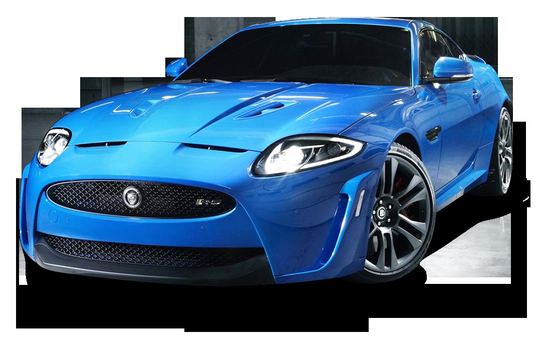Jaguar XKR S Blue Car