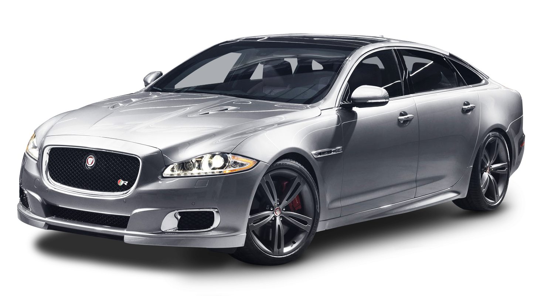 Jaguar XKR Silver Car PNG Image