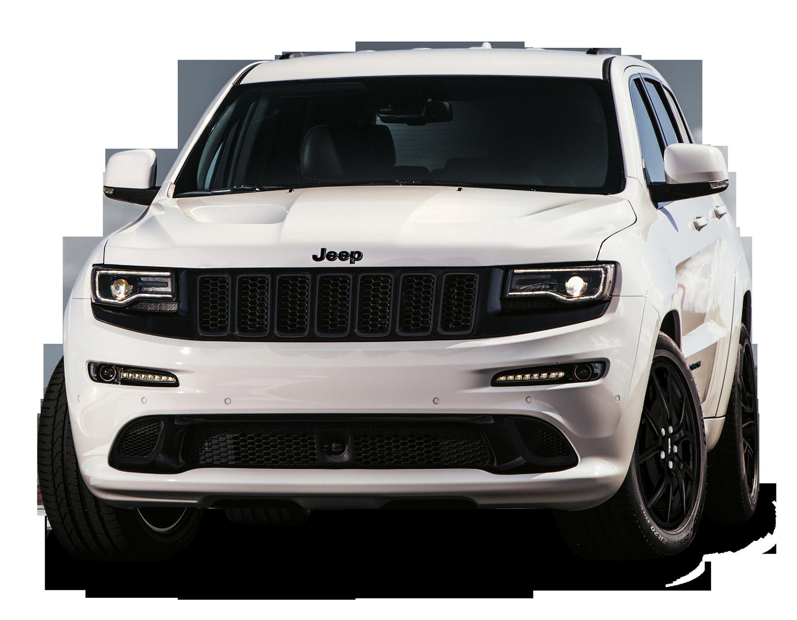 Jeep Grand Cherokee SRT White Car