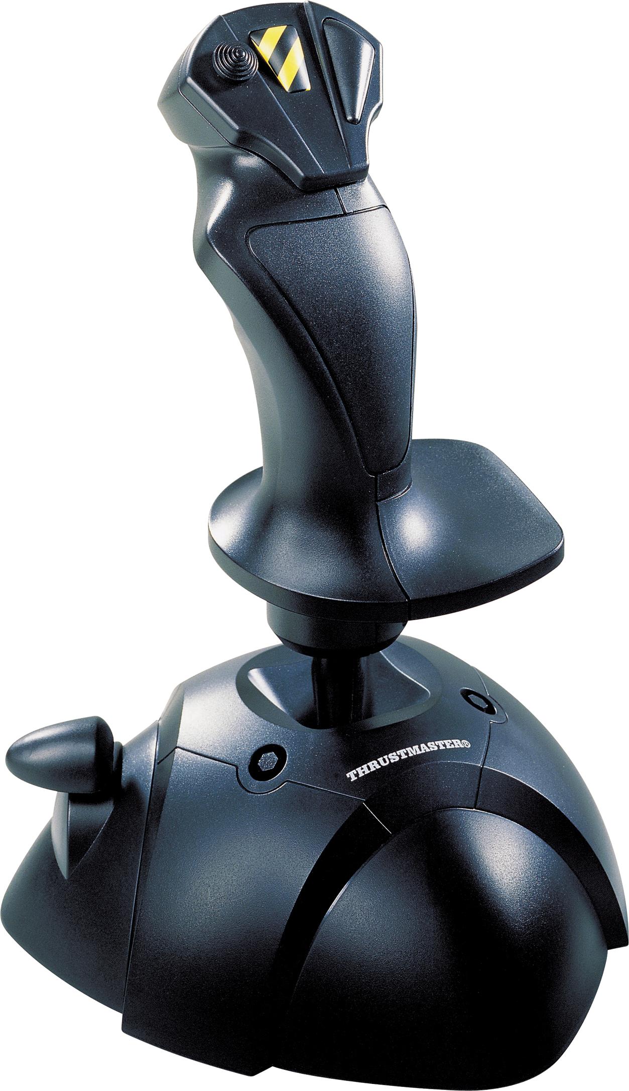 Thrustmaster Black Joystick PNG Image
