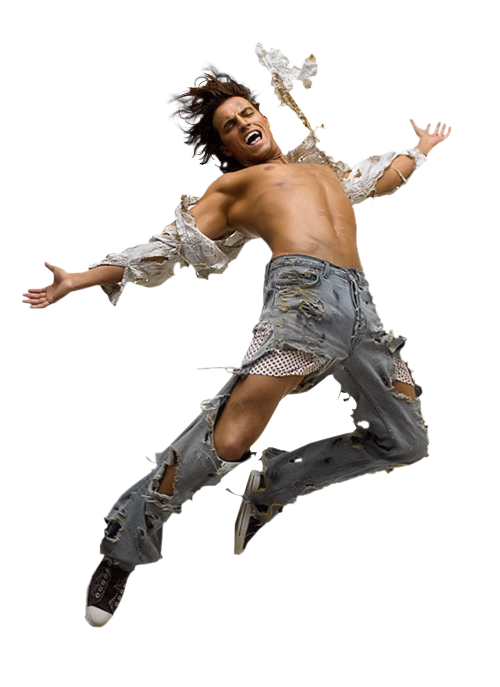 Jumping Man PNG Image
