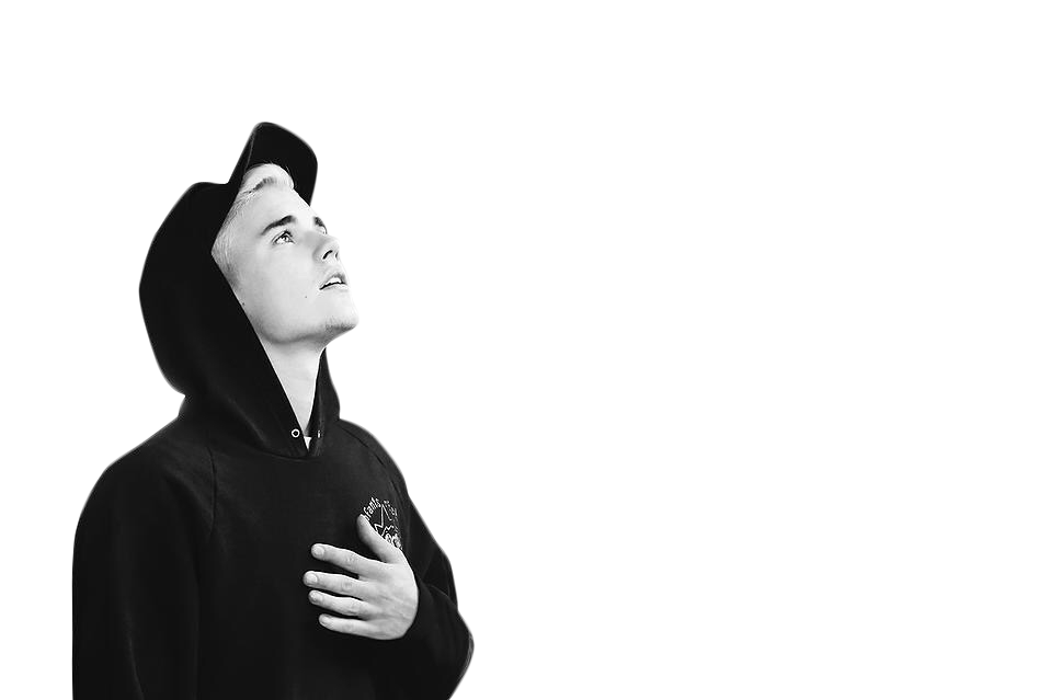 Celebrities Hd Png Transparent Celebrities Hd Png Images: Justin Bieber Black & White PNG Image - PurePNG