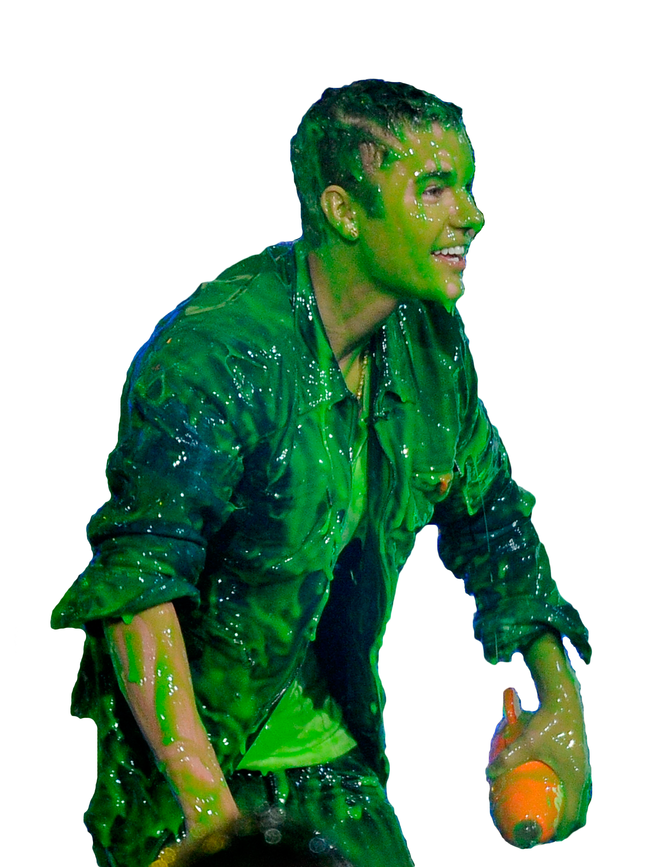 Justin Bieber Green Mucus PNG Image