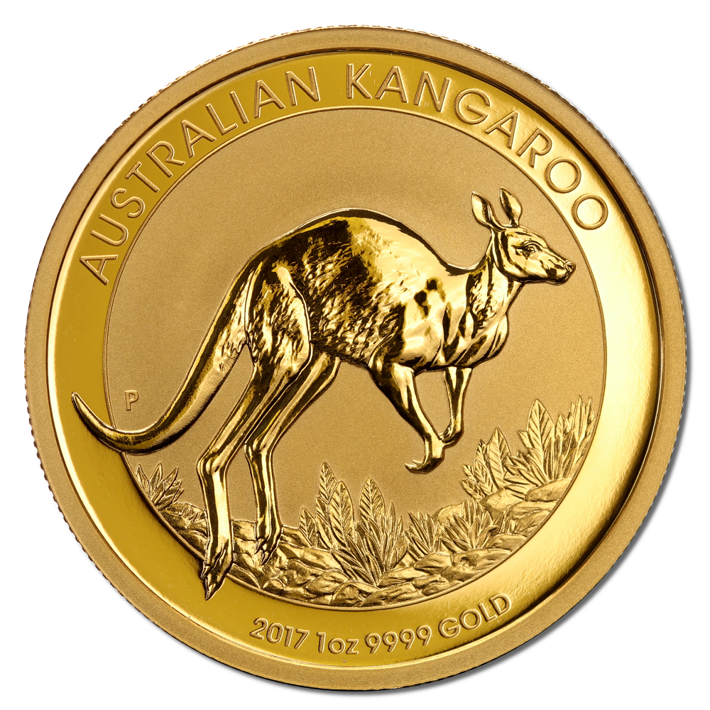 Kangaroo Gold Coin