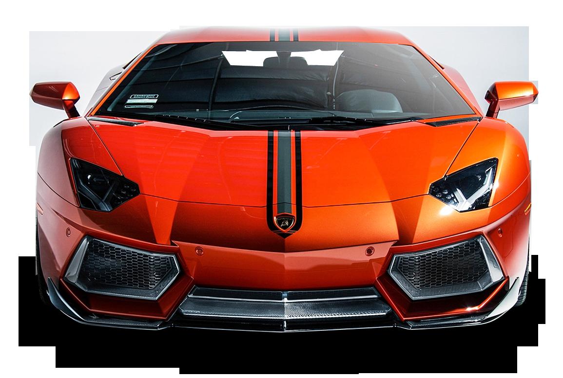 Lamborghini Aventador Coupe Front View Car Png Image Purepng