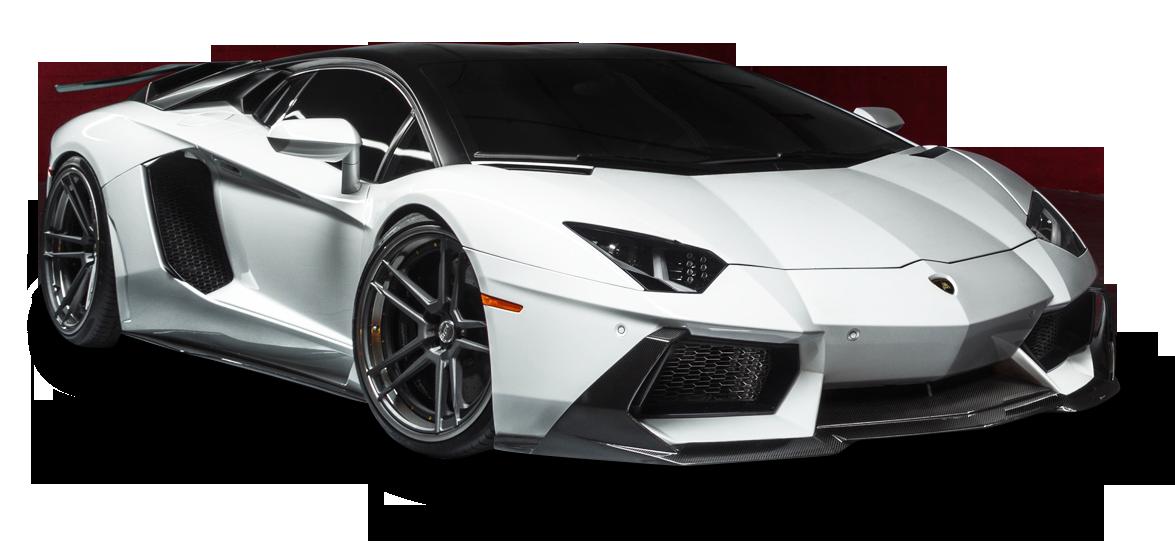 Lamborghini Aventador Lp White Car Png Image Purepng Free
