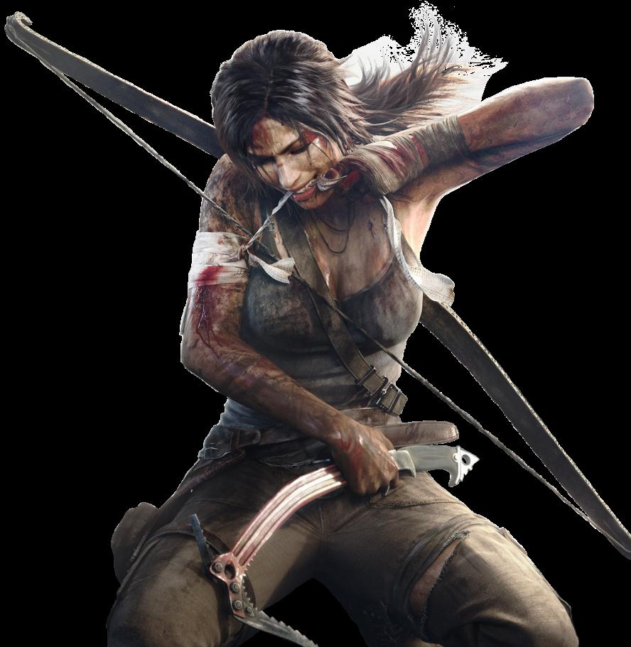 Lara Croft |  Tomb Raider  With Bow