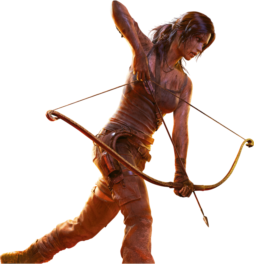 Lara Croft    Tomb Raider  With Bow