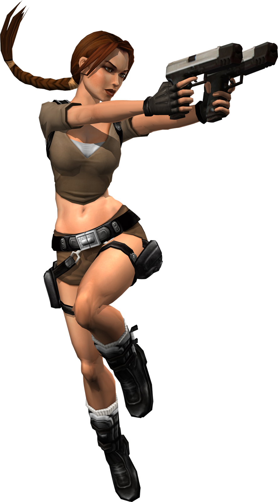 Lara Croft |  Tomb Raider  With Guns