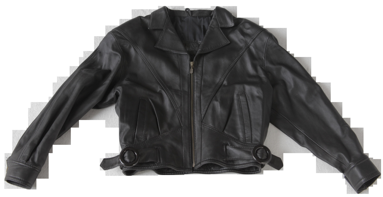 Leather Black Ladies Jacket