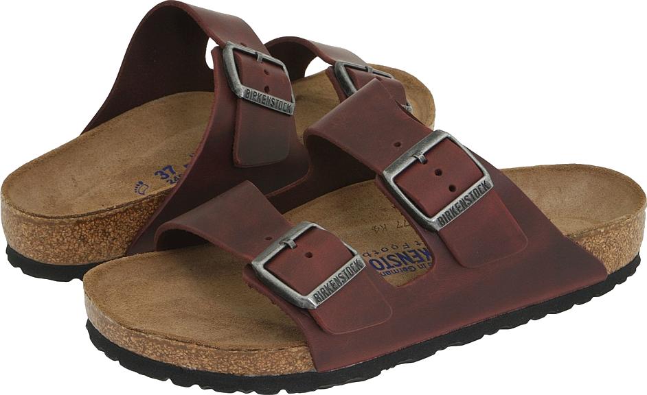 Leather Sandal Men's PNG Image
