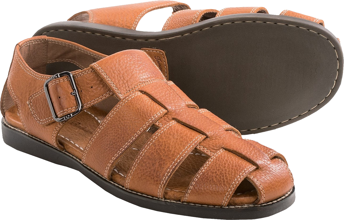 Leather Sandal PNG Image