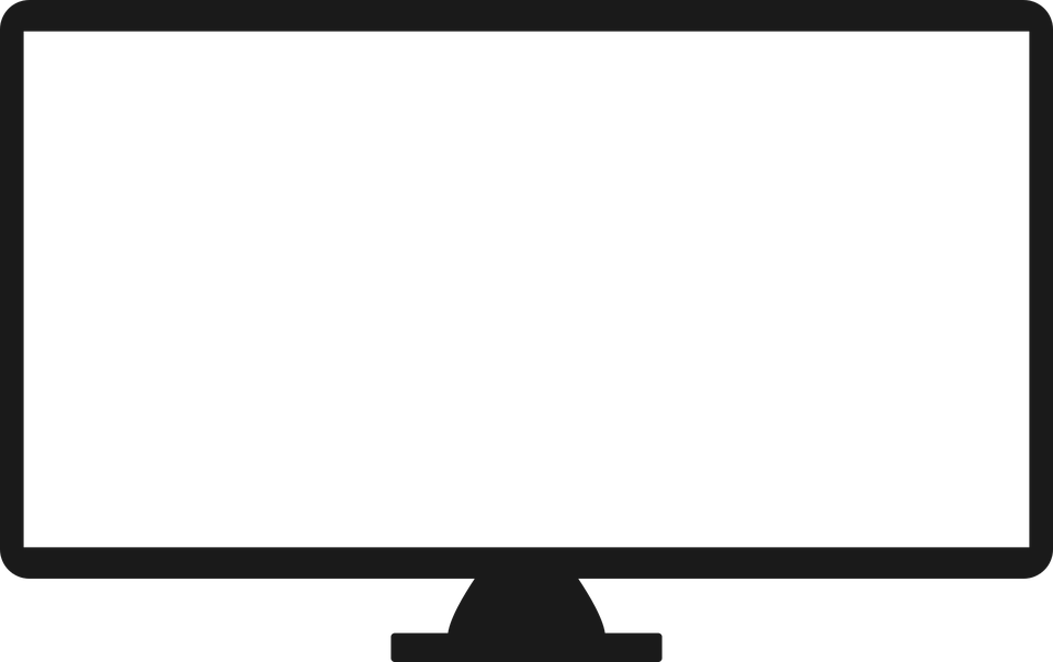 Led Television PNG Image