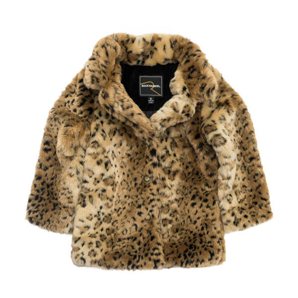 Leopard Fur Coat PNG Image