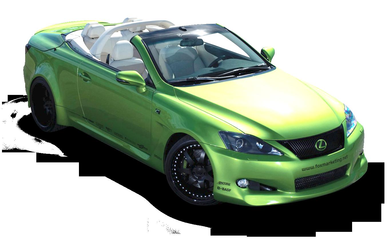 Lexus IS 350C Car PNG Image