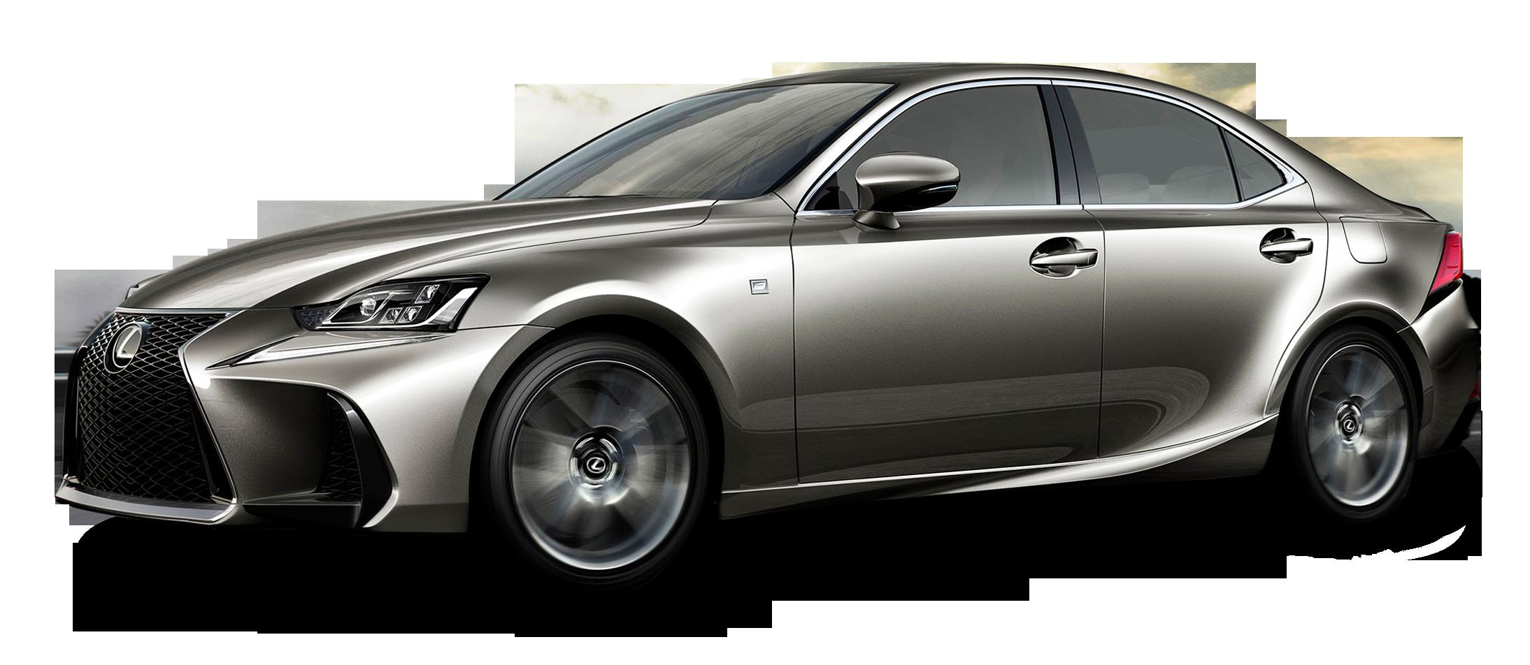 Lexus IS Silver Car