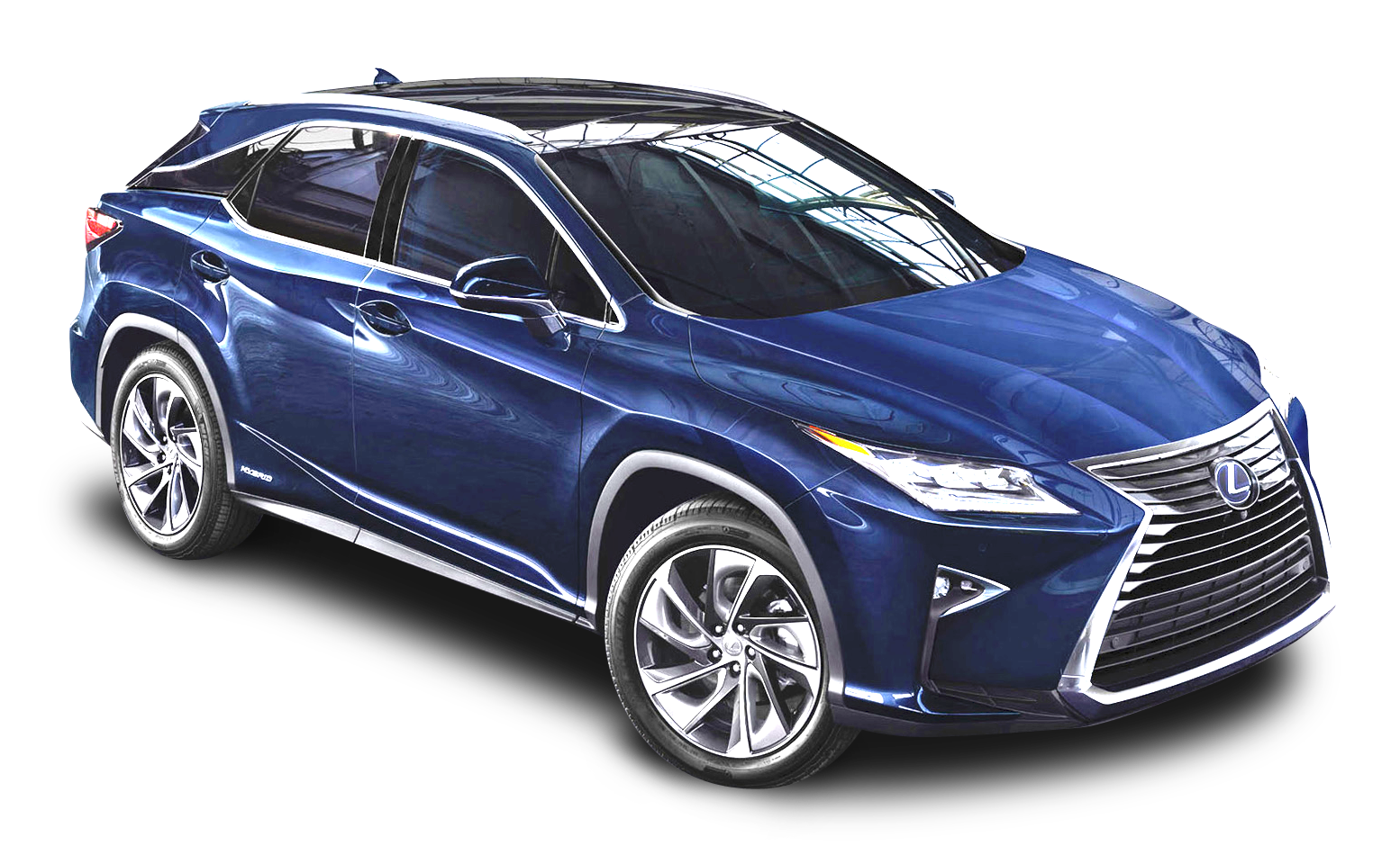 Lexus RX 450h Blue Car