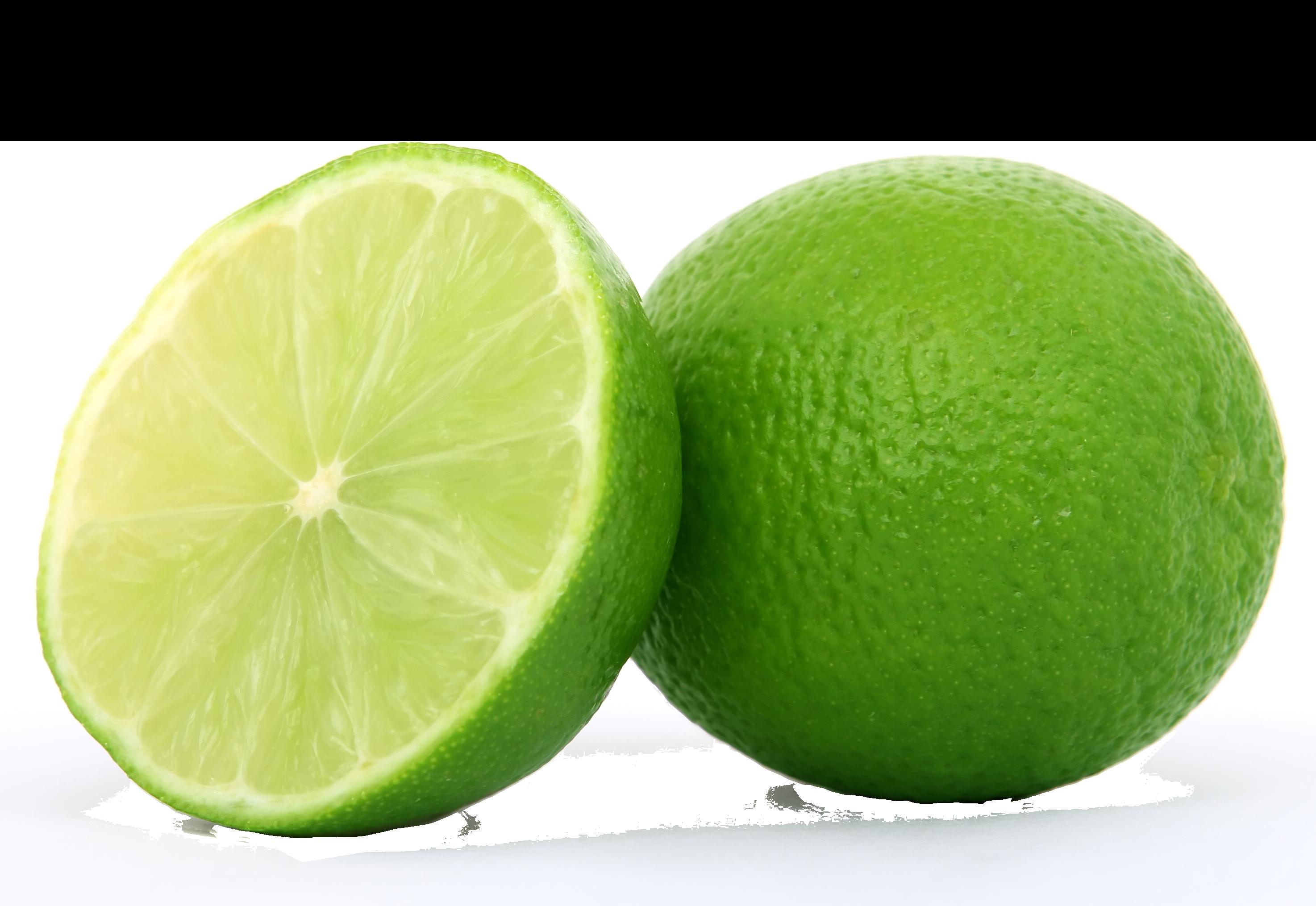 Lime Halved PNG Image