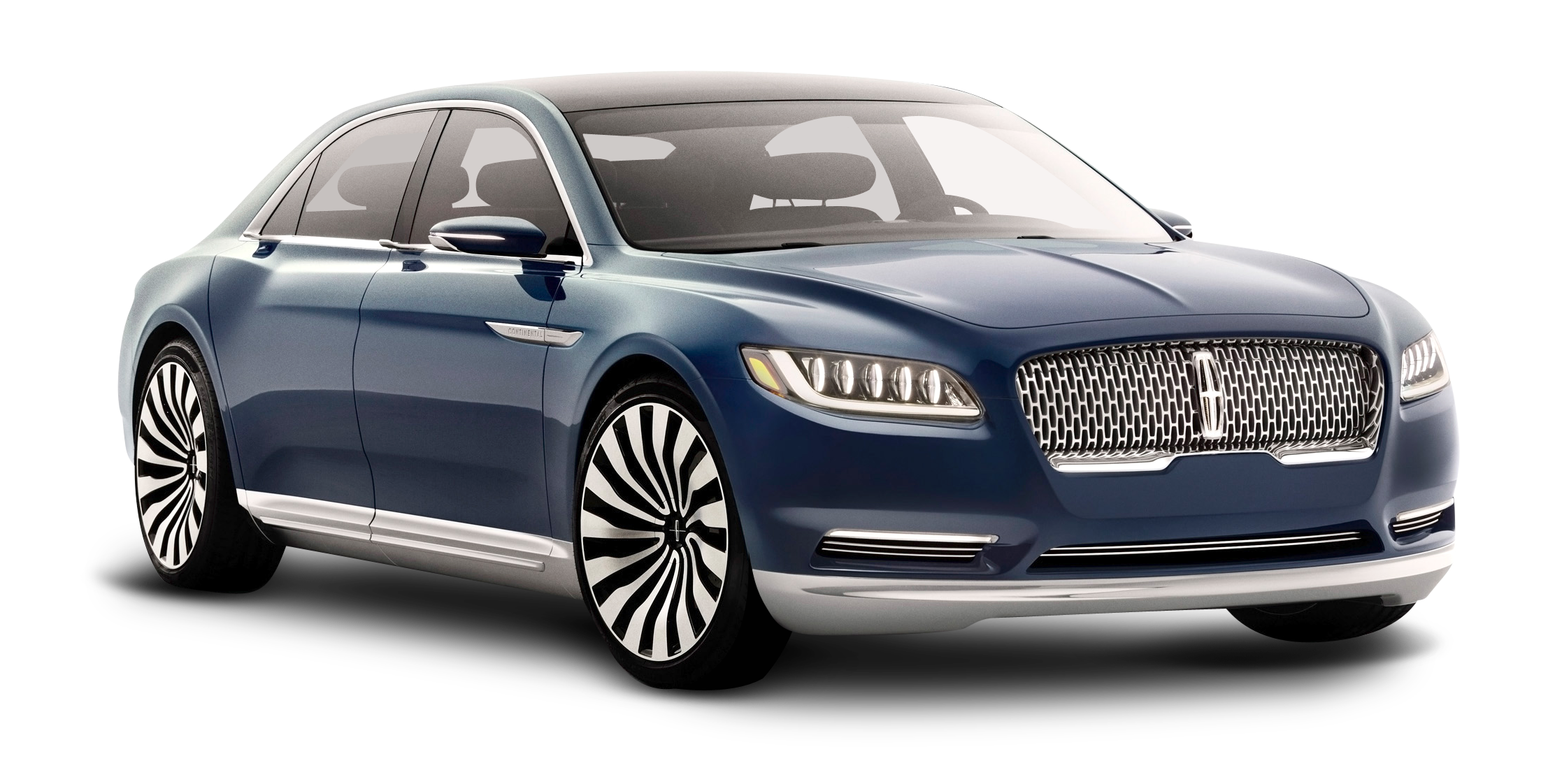 Lincoln Continental Blue Car PNG Image - PurePNG | Free ...