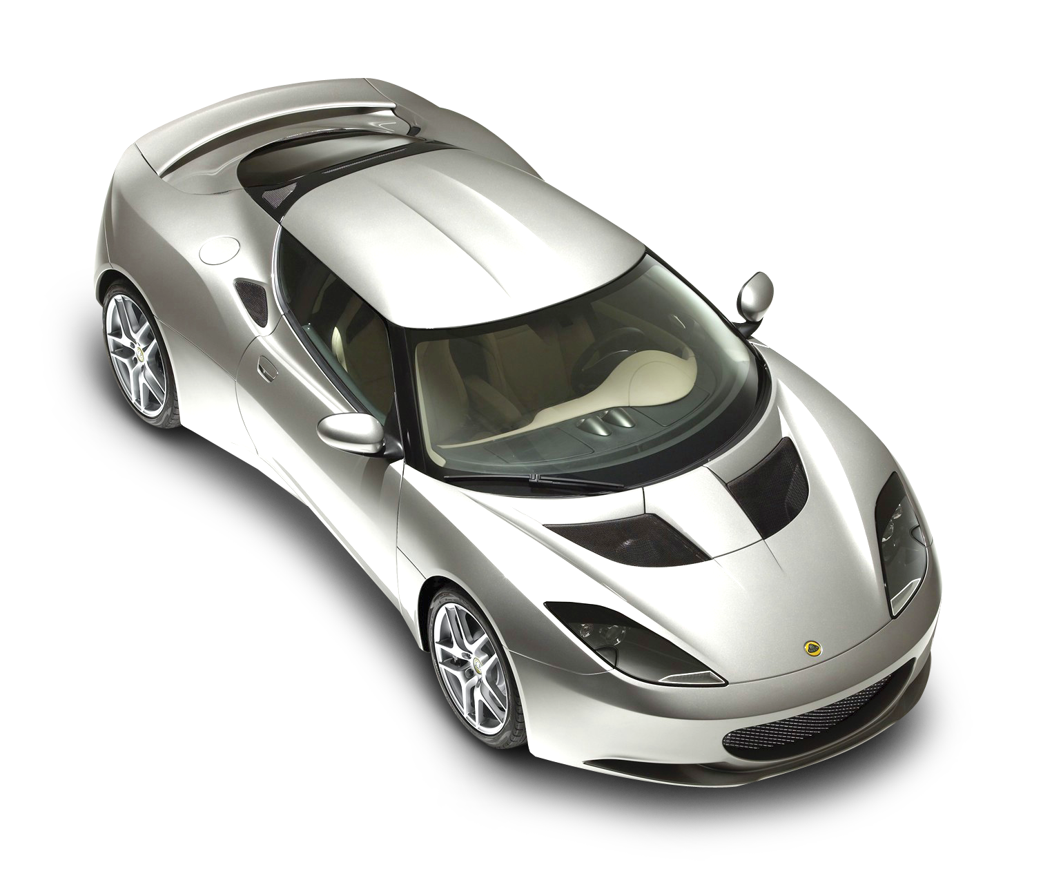 Lotus Evora Top View Car PNG Image - PurePNG