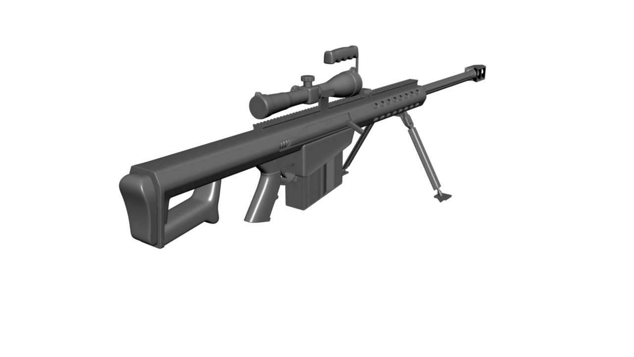 Low Poly Sniper