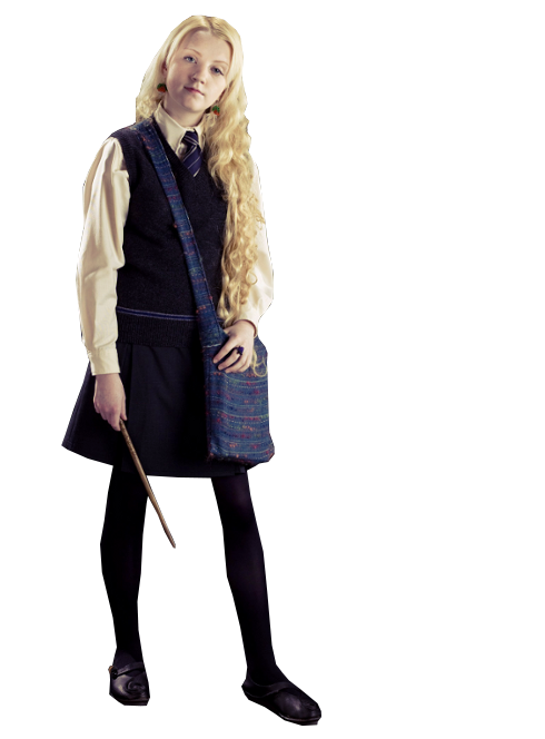 Luna with Magical Wand PNG Image