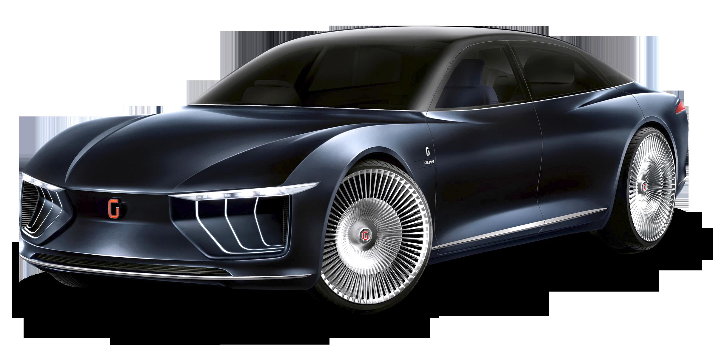 Luxury Giugiaro Gea Blue Car