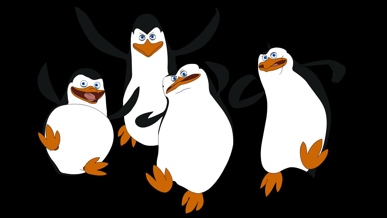 Madagascar Penguins PNG Image