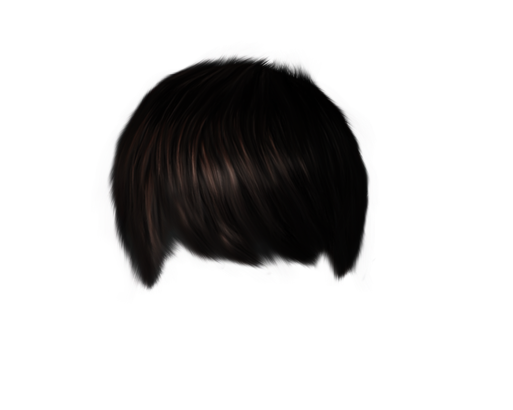 Male Hair PNG Image