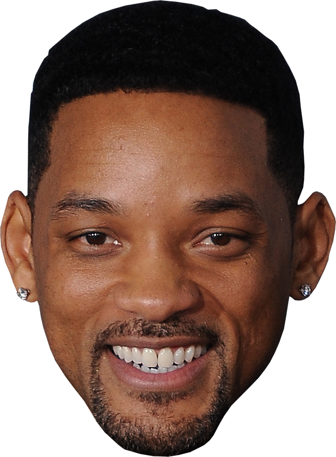 Man Face Will Smith PNG Image