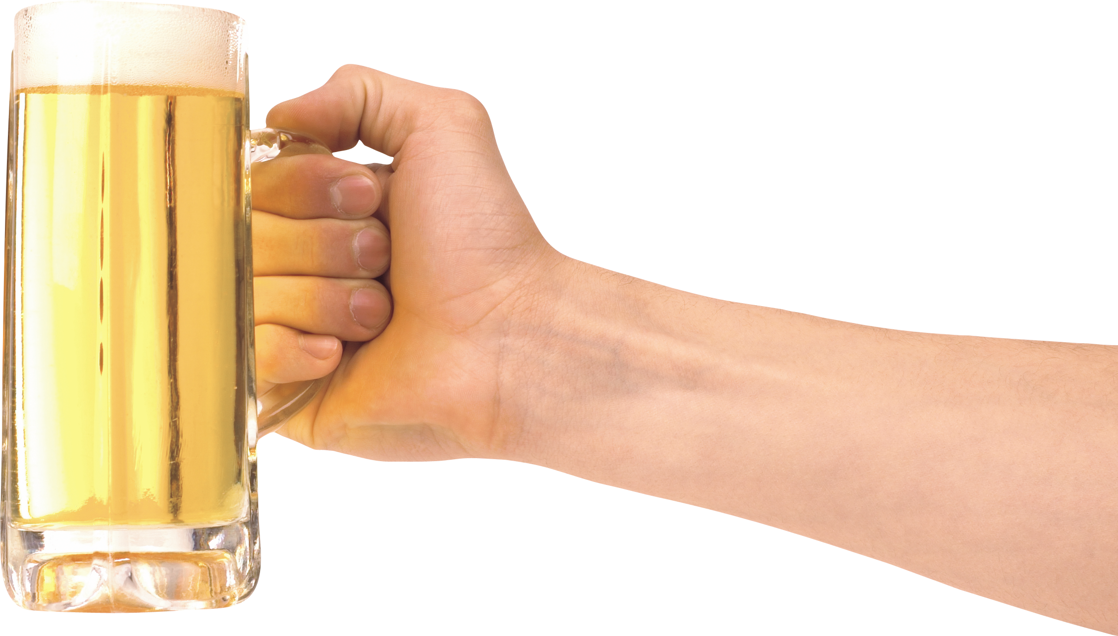 Man holding Beer PNG Image