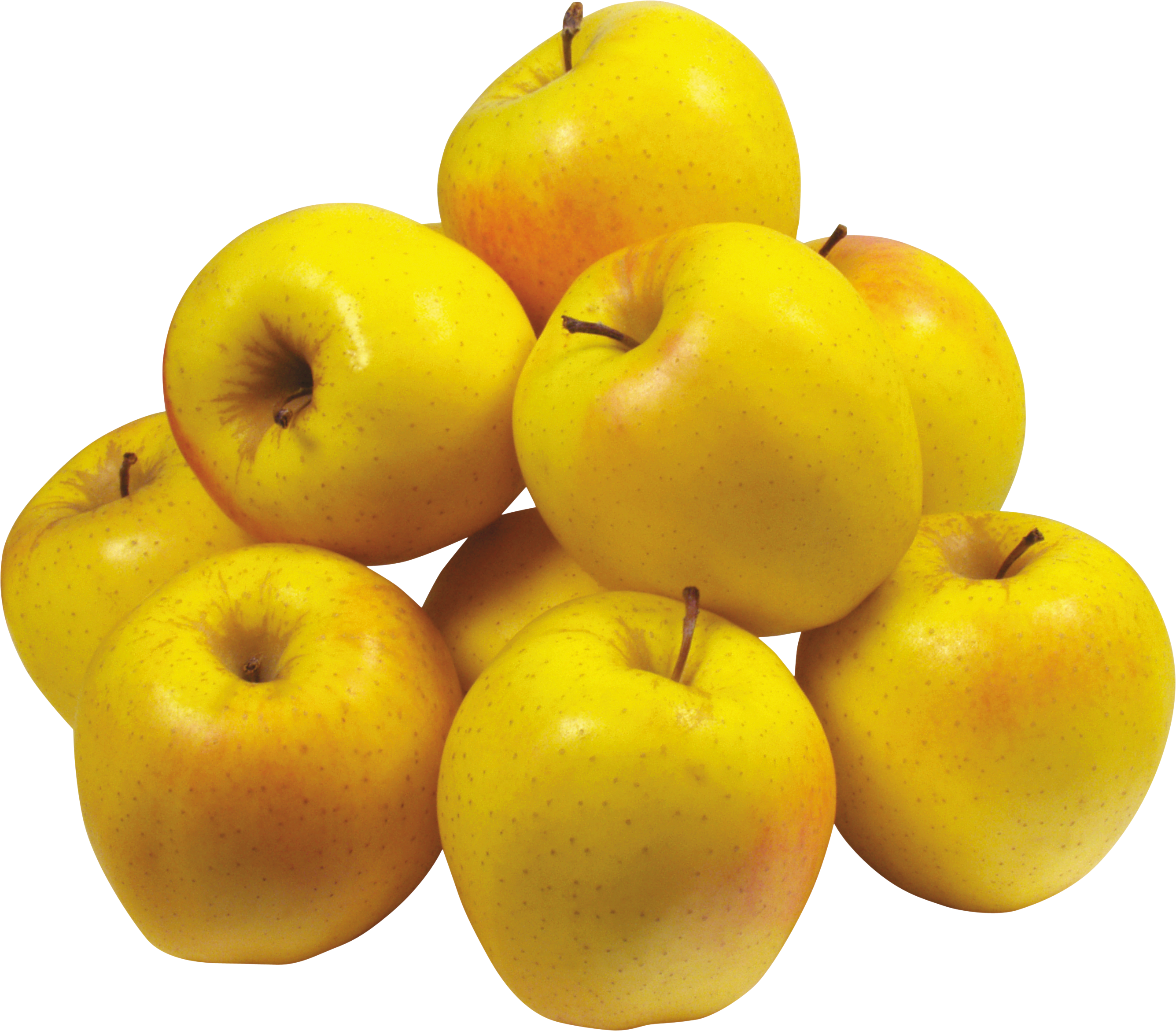 Many Yellow Apples