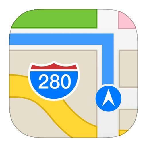 Maps Icon iOS 7