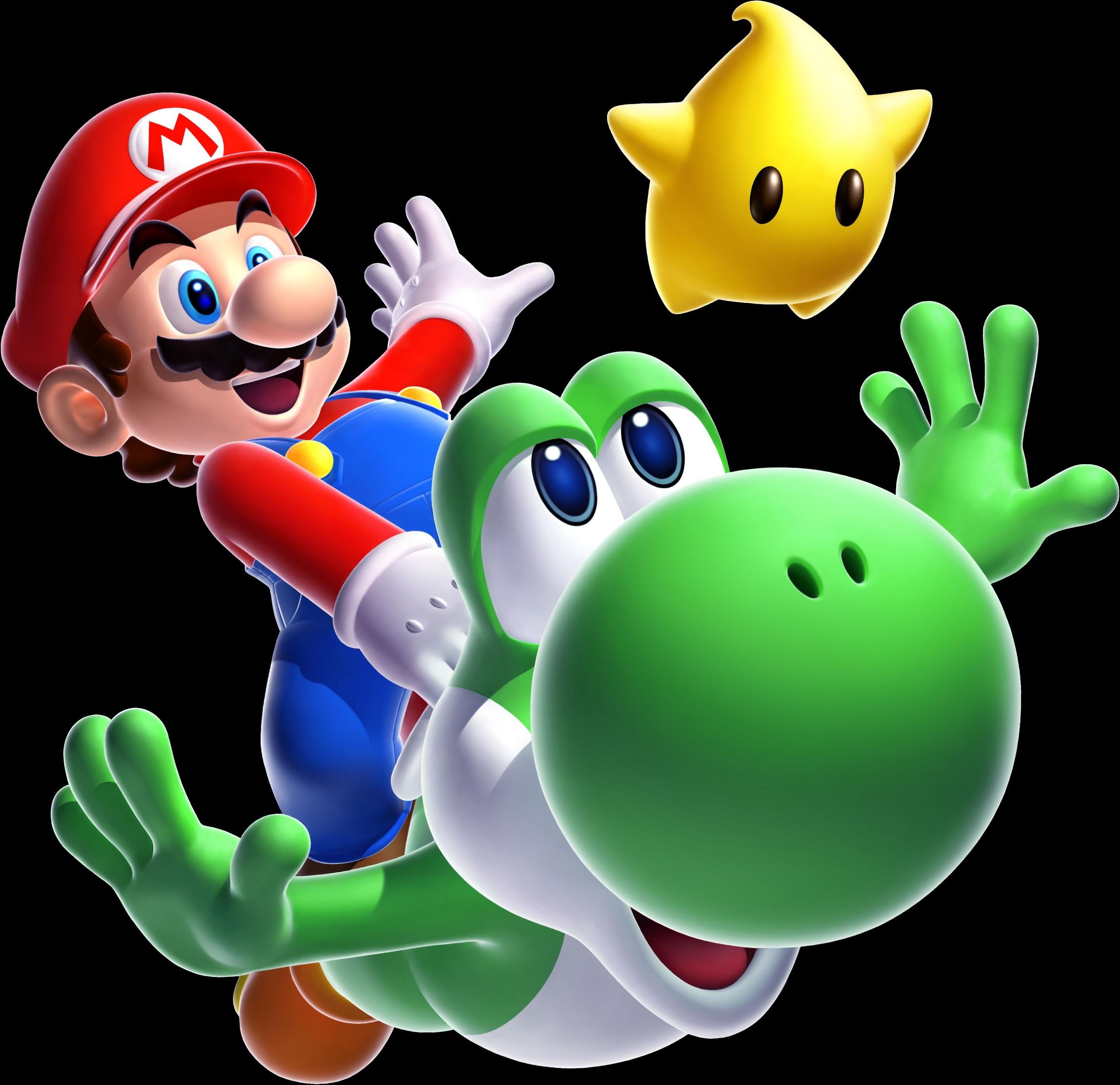 Mario Flying