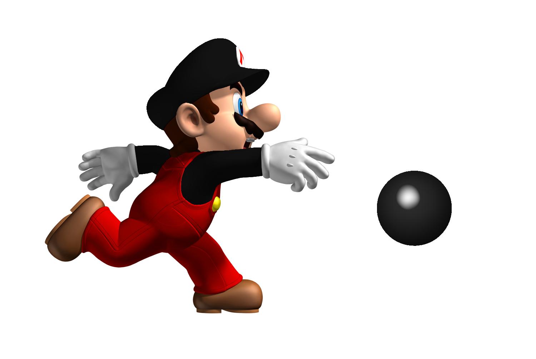 Mario Playing PNG Image