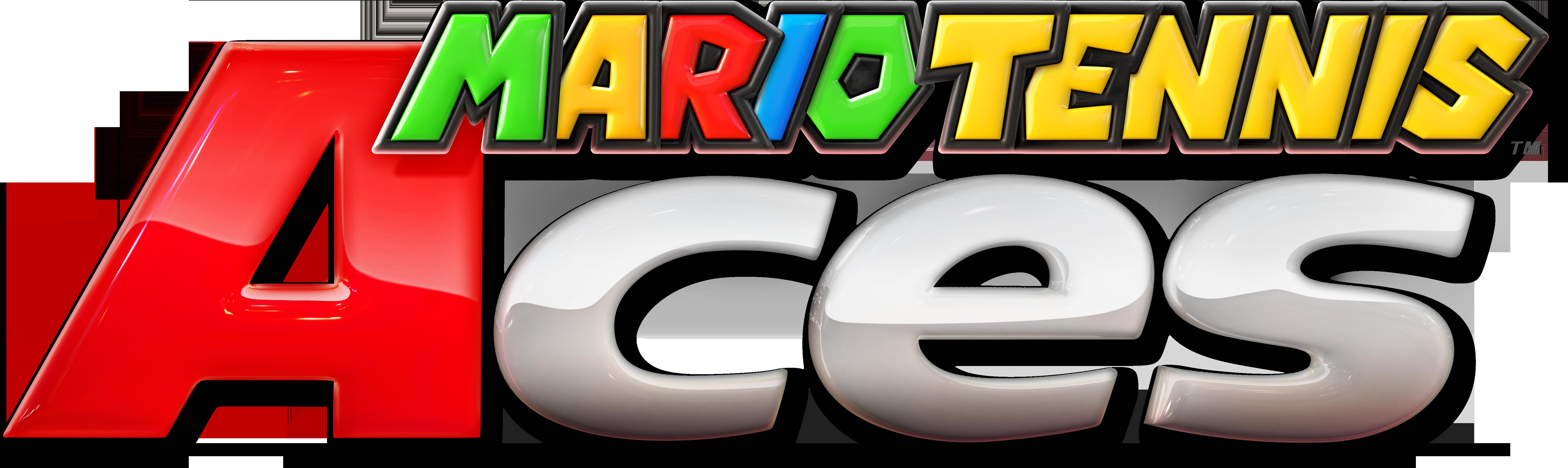 Mario Tennis Aces Logo PNG Image