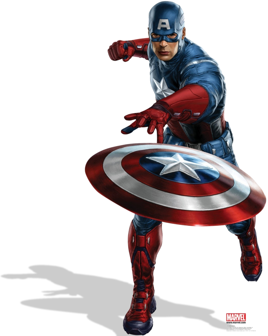 Marvel Captain America PNG Image