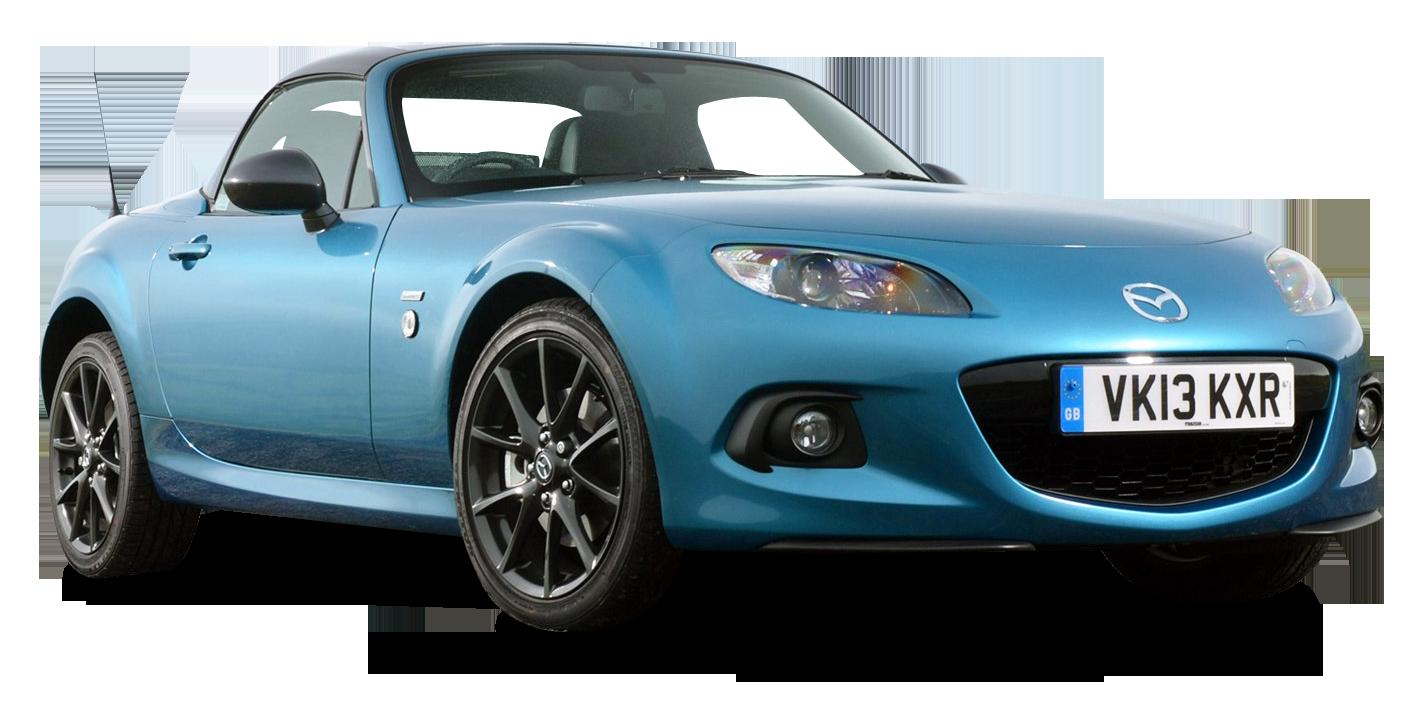 Mazda MX 5 Sport Graphite Car PNG Image