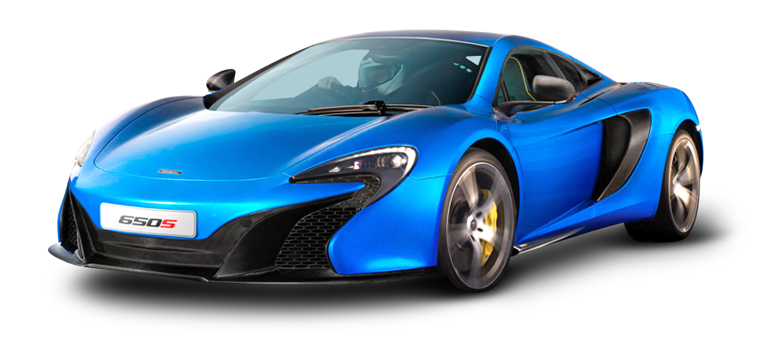 McLaren 650s Blue Car