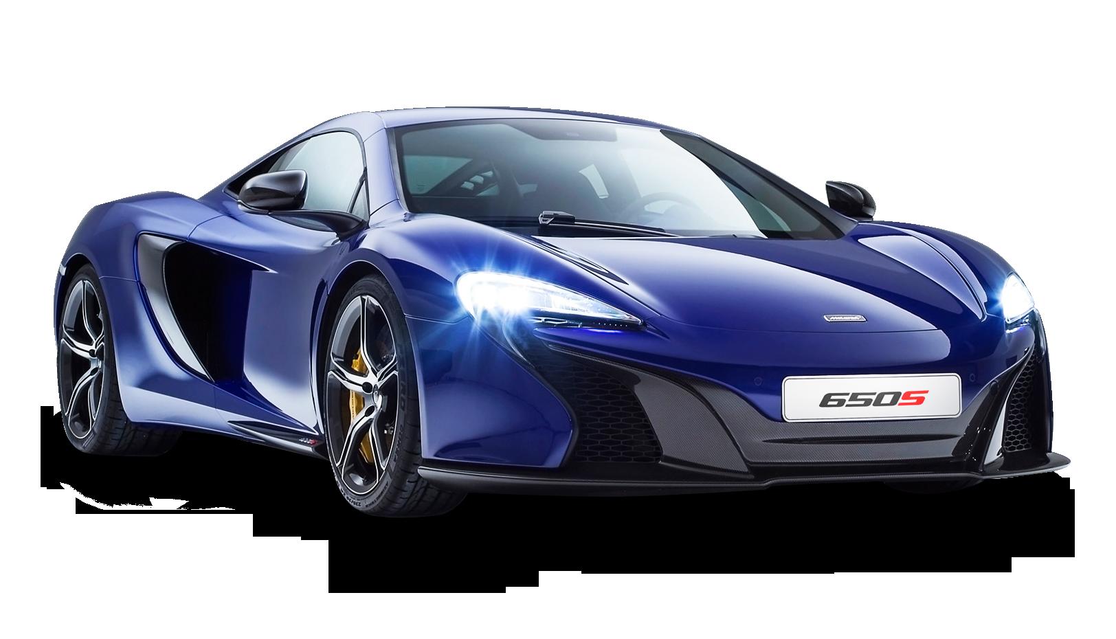 McLaren 650S Coupe Blue Car PNG Image - PurePNG   Free ...