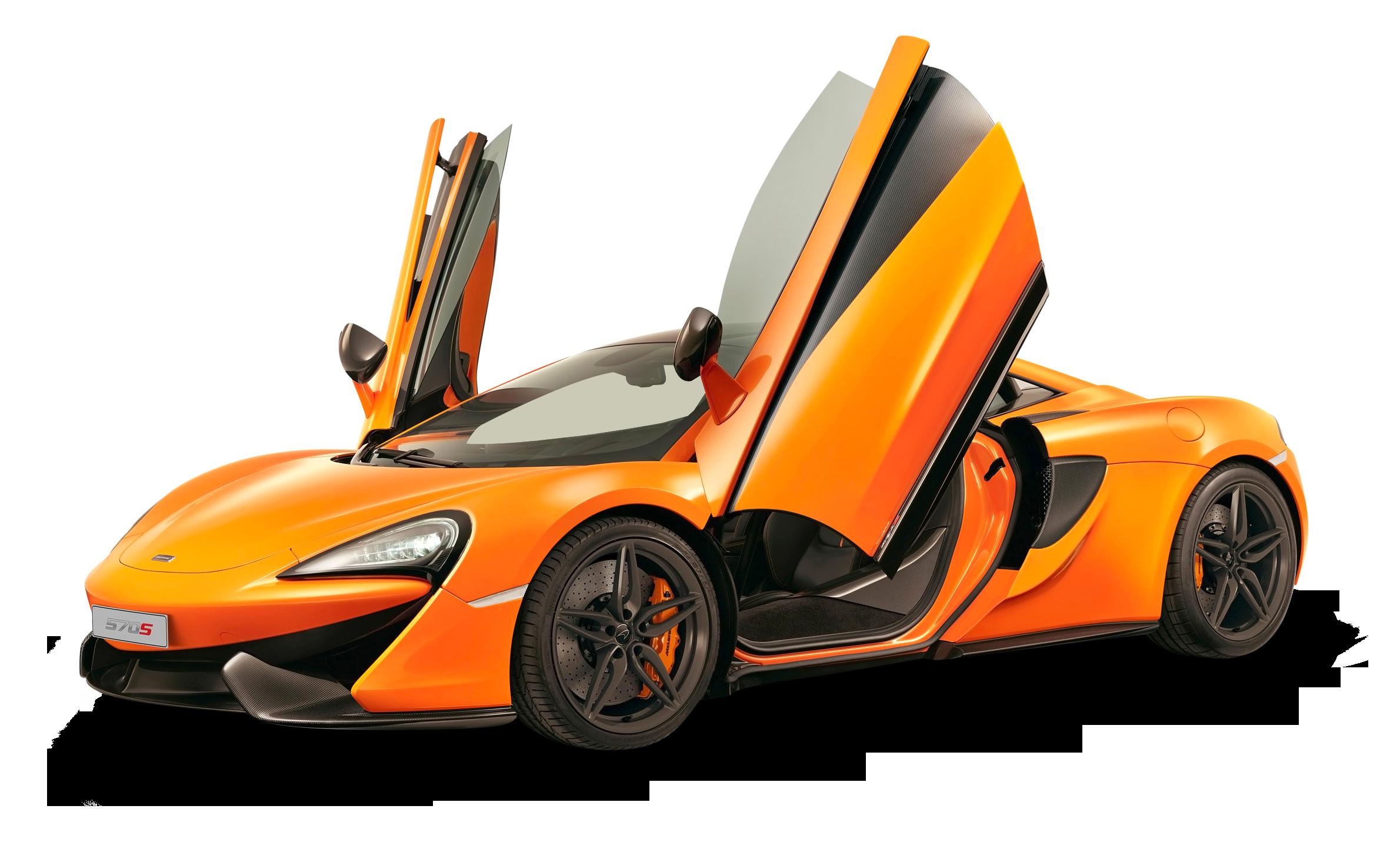 McLaren 650S GT Orange Car