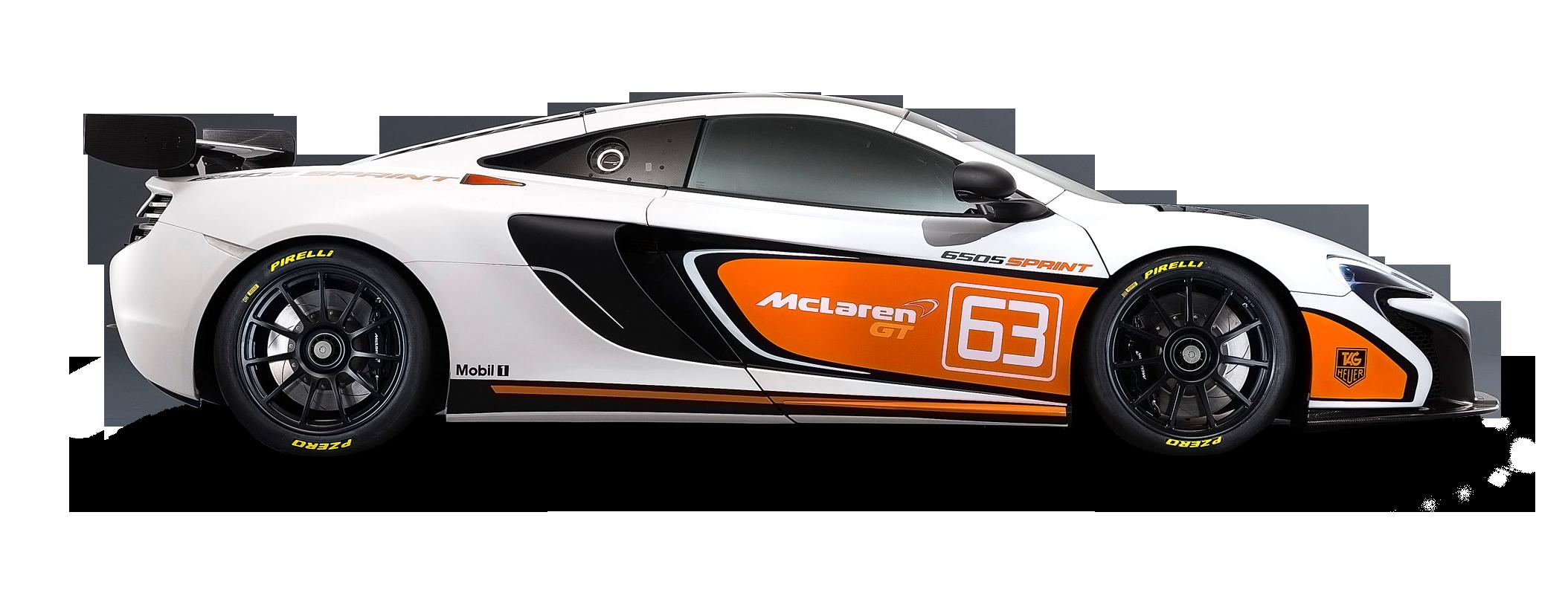 McLaren 650S Sprint White Car