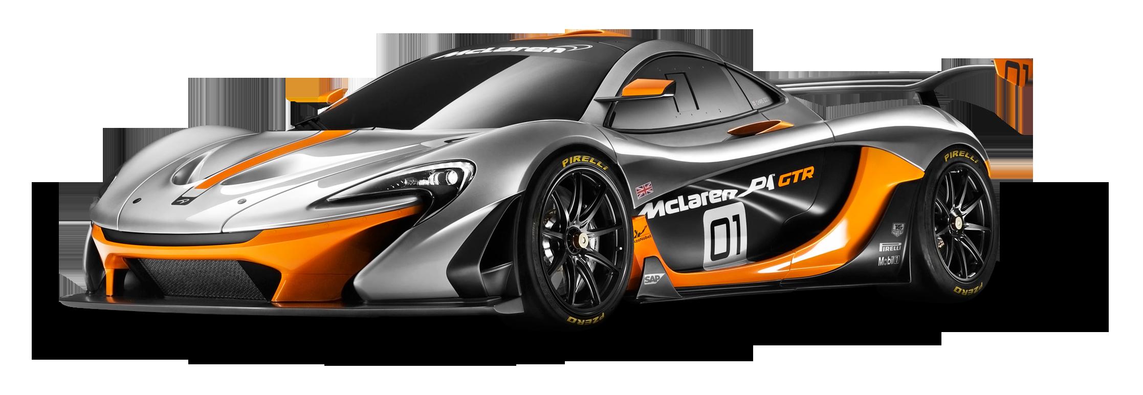 McLaren P1 GTR Race Car PNG Image