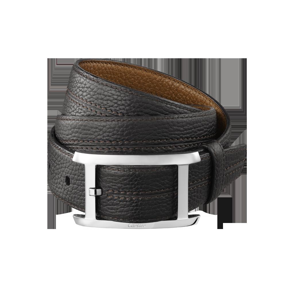 Men's leather belts: cowhide