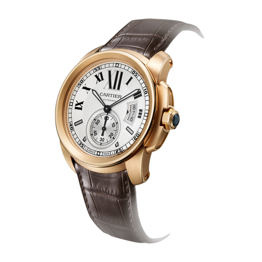 Men's Wrist Band Watch PNG Image