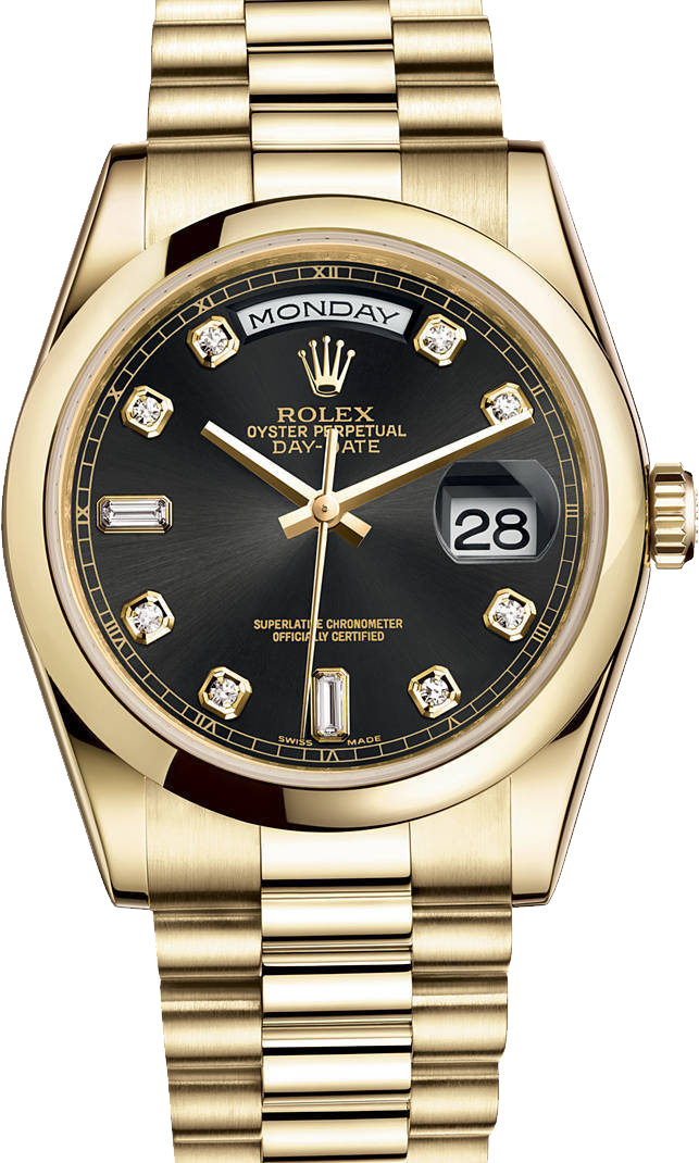 Men's Wrist Band Watch PNG Image